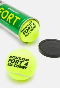 Dunlop - FORT ALL COURT 4 PACK UNISEX - Bollar - gelb - 2