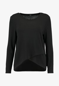 ONLY - ONLSONJA MIDA WRAP - Long sleeved top - black - 4