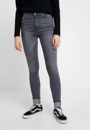 ONLPAOLA HIGHWAIST  - Jeansy Skinny Fit - grey denim