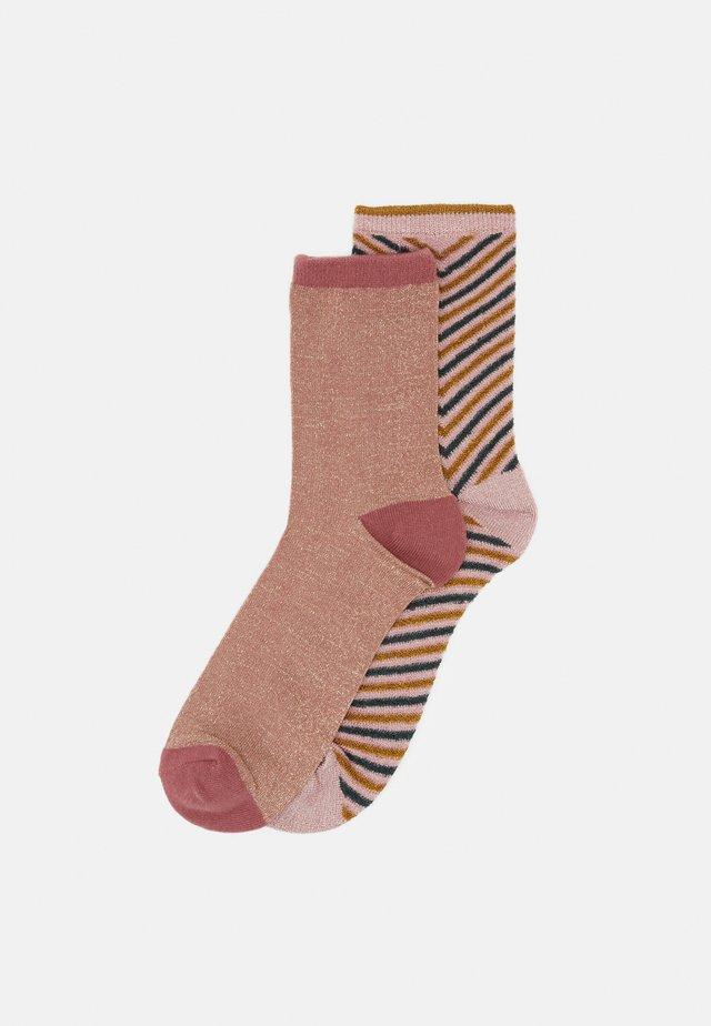 2 PACK - Ponožky - silver gray/desert sand