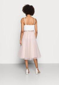 Esprit Collection - SKIRT - A-line skirt - nude - 2