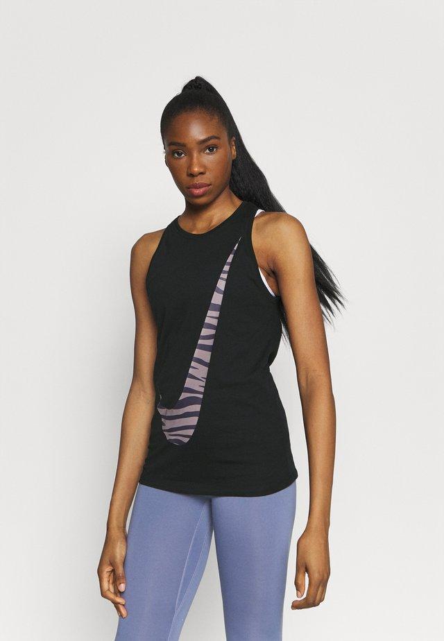 DRY TANK ICON CLASH - T-shirt sportiva - black