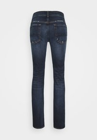 7 for all mankind - RONNIE ARIES DISTRESSED - Džíny Slim Fit - dark blue - 1