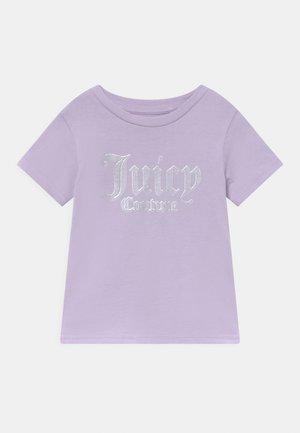 LOGO PRINT TEE - T-shirt print - lilac