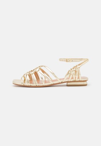 TRENTINO - Sandals - gold