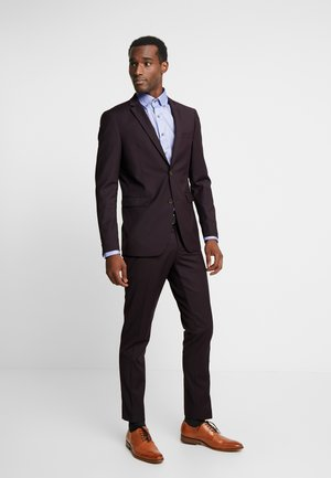 SUIT - Oblek - bordeaux red