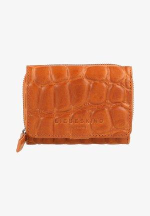 Wallet - golden amber