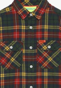 Superdry - EXPLORER CHECK  - Camisa - yellow/green - 4