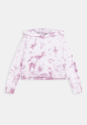 SERENA CROP HOODIE - Mikina s kapucí - chalky mauve
