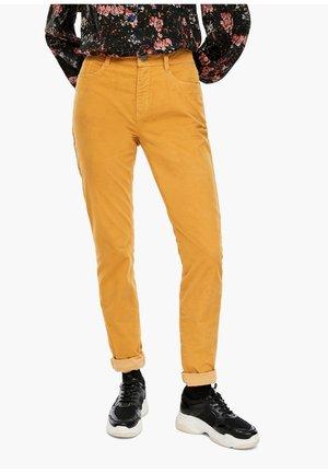 Trousers - curcuma