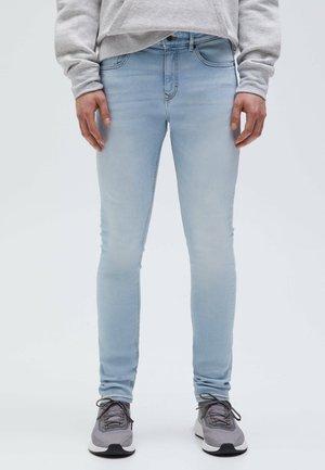 SUPERSKINNY-BLEACH-LOOK - Jeans Skinny Fit - blue