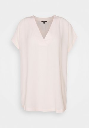 BLOUSE SOLID - Basic T-shirt - light pink