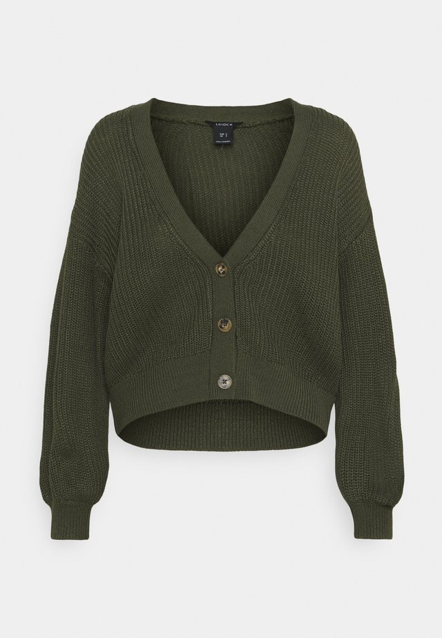 CARDIGAN BRIDGET - Kardigan - dark green