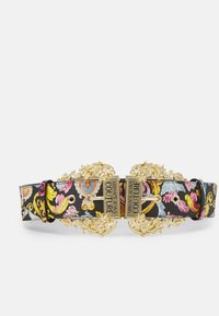 Versace Jeans Couture - LARGE DOUBLE BAROQUE BUCKLE - Waist belt - multi-coloured - 1