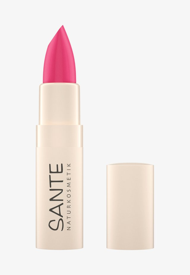 MOISTURE LIPSTICK - Pomadka do ust - 04 confident pink