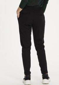 Kaffe - KALORA  - Trousers - black deep - 2