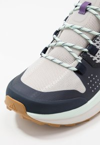 adidas Performance - TERREX FOLGIAN HIKER - Hiking shoes - legend ink/light solid grey/dash green - 5