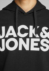 Jack & Jones - JJECORP LOGO HOOD - Hoodie - black - 4
