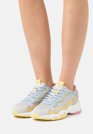 SLOANE MIX - Trainers - pearl silver