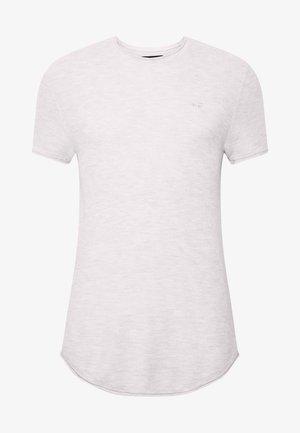 SOLID CREW - Print T-shirt - grey