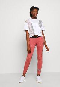 adidas by Stella McCartney - GRAPHIC TEE - Print T-shirt - white - 1