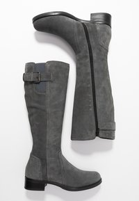 Anna Field - LEATHER BOOTS - Kozaki - grey