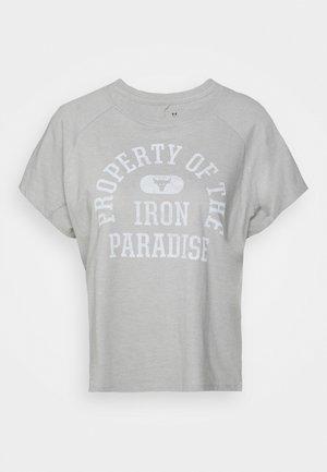 ROCK PROPERTY OF - Print T-shirt - gray wolf light heather