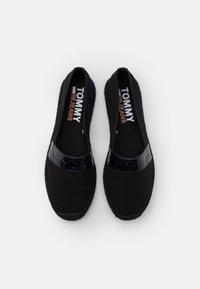 Tommy Jeans - IRIDESCENT BRANDING  - Espadrilles - black - 5