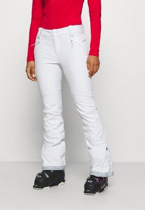 ROFFE RIDGE PANT - Spodnie narciarskie - white