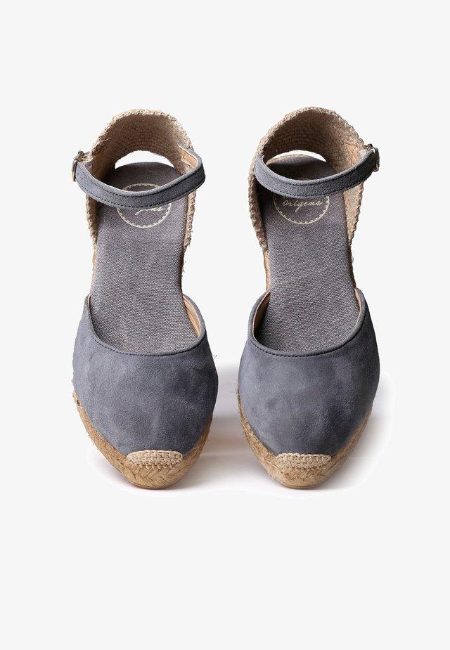 LLORET - Platform heels - grey