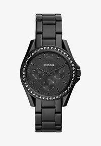 Fossil - RILEY - Zegarek - schwarz - 1