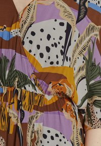TOM TAILOR DENIM - Maxi dress - multi-coloured - 3