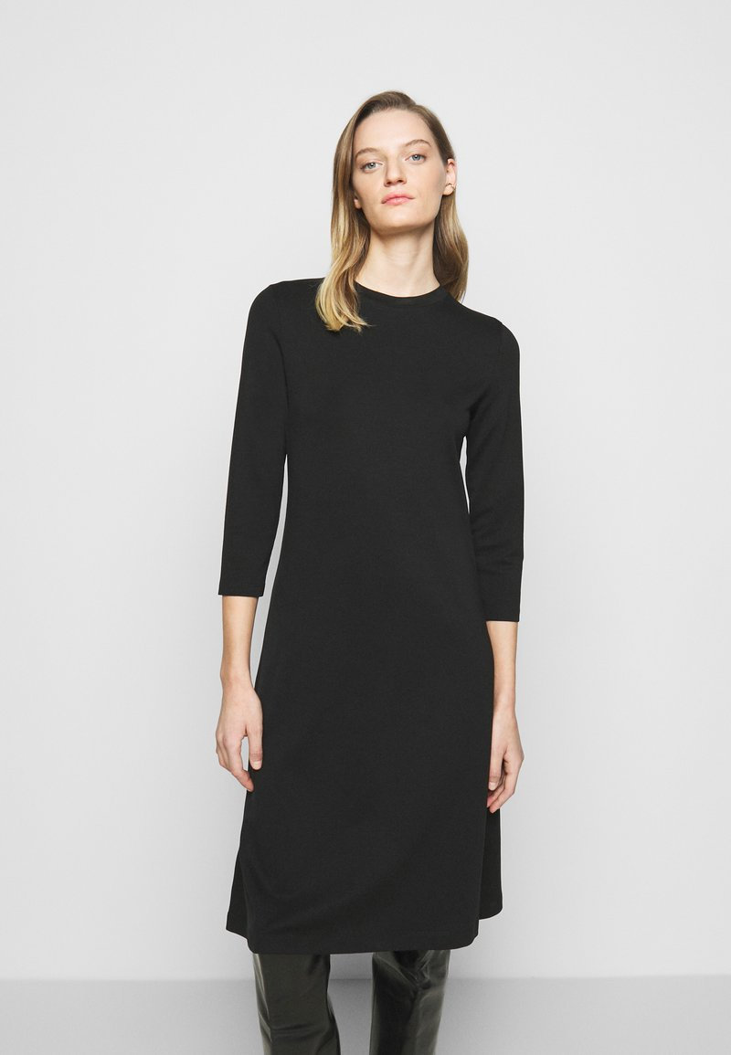 DRYKORN - FAGI - Žerzejové šaty - black