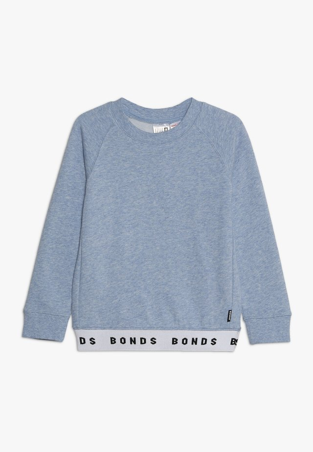 LOGO - Sweatshirt - cloud burst marle