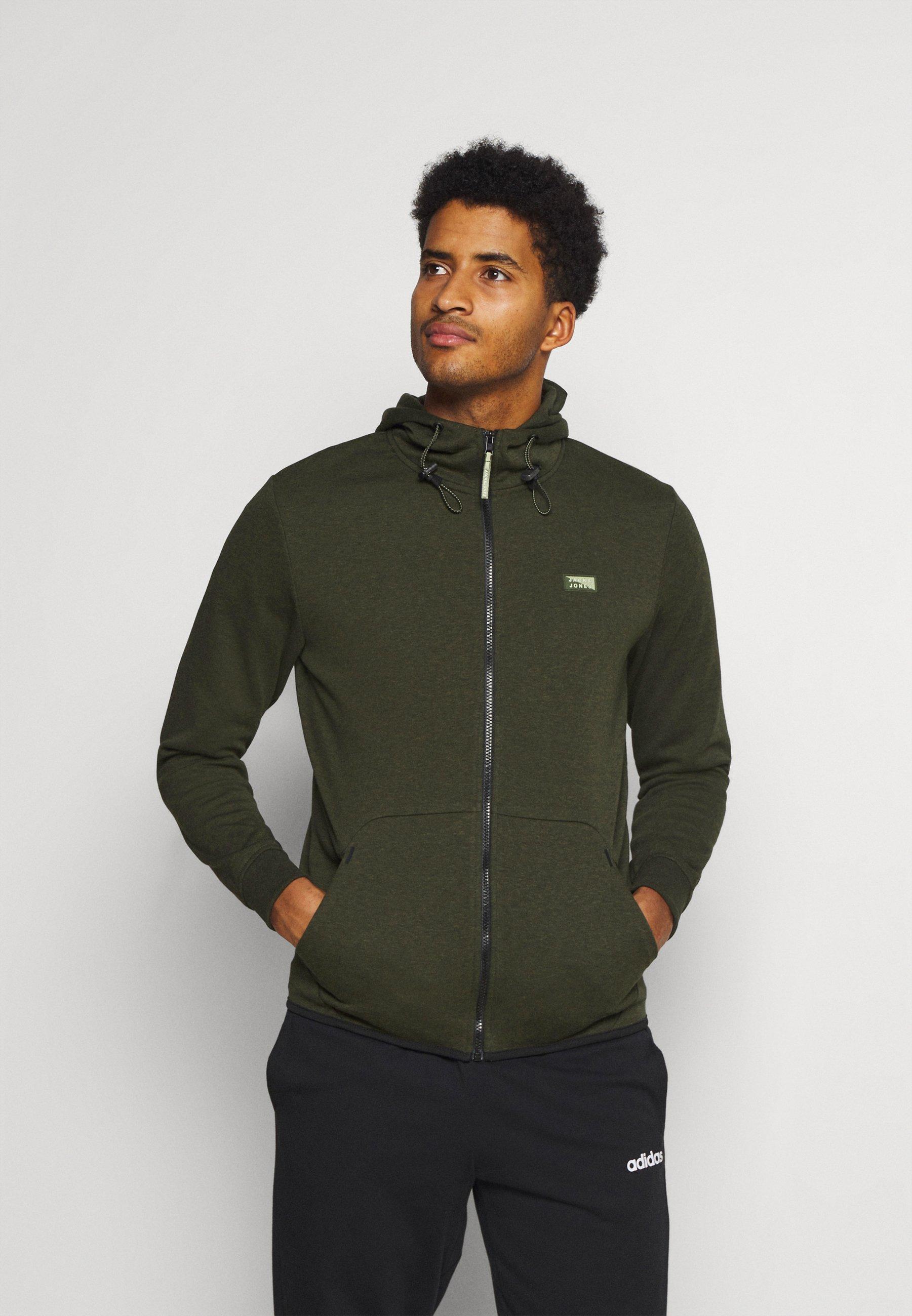 Men JCOAIR ZIP HOOD - Zip-up sweatshirt