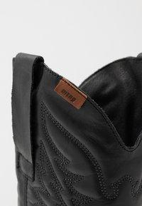 mtng - TEO - Cowboy/Biker boots - black - 2