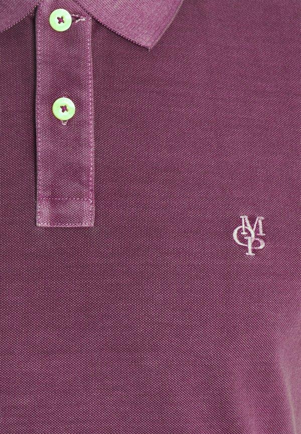 Marc O'Polo Koszulka polo - super fuschia/ciemnoliliowy Odzież Męska GHGG