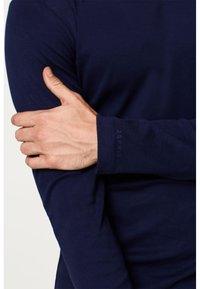 Esprit - BASIC - Bluzka z długim rękawem - navy - 3