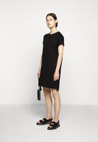 KARL LAGERFELD - ADDRESS DRESS - Vestido ligero - black - 1