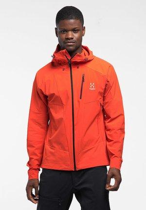 SKARN HYBRID JACKET - Soft shell jacket - Habanero