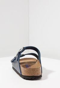 Birkenstock - ARIZONA SOFT FOOTBED - Slippers - blue - 3