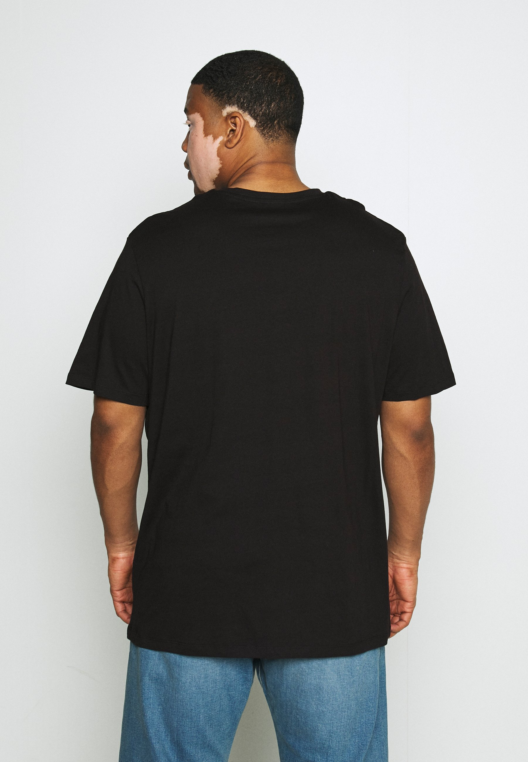 Jack & Jones JCOFLEXI TEE - Print T-shirt - black D0UTL