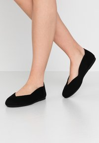 Bianco - BIADELFINE  - Ballet pumps - black - 0
