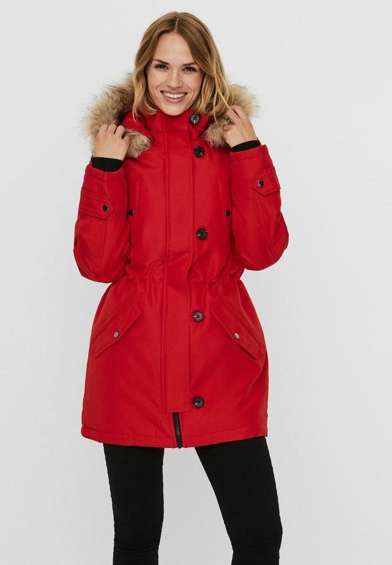 Vero Moda - VMEXCURSION - Winter coat - goji berry