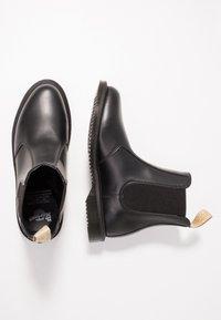Dr. Martens - VEGAN FLORA CHELSEA BOOT - Classic ankle boots - black felix - 3