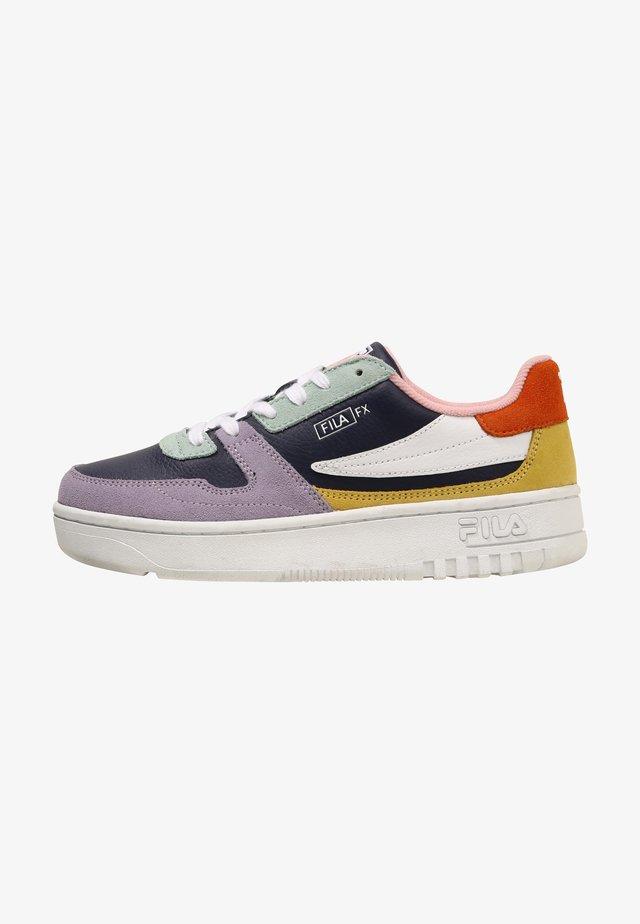 Sneakers basse - pastel lilac/elfin yellow