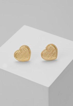 FOLLOW MY CHARM - Earrings - gold-coloured
