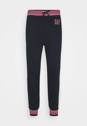 LOGO - Tracksuit bottoms - new classic navy