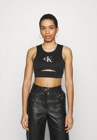 Calvin Klein Jeans - PRIDE MILANO - Top - black - 0