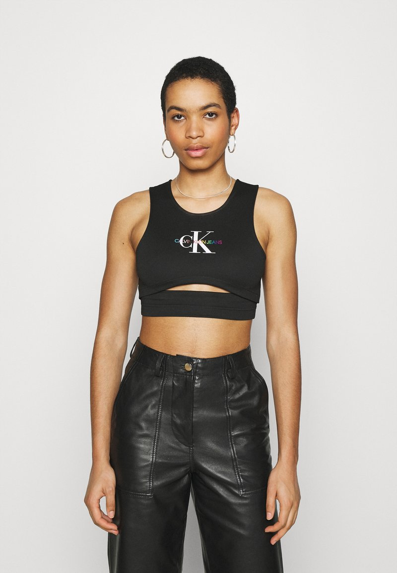 Calvin Klein Jeans - PRIDE MILANO - Top - black